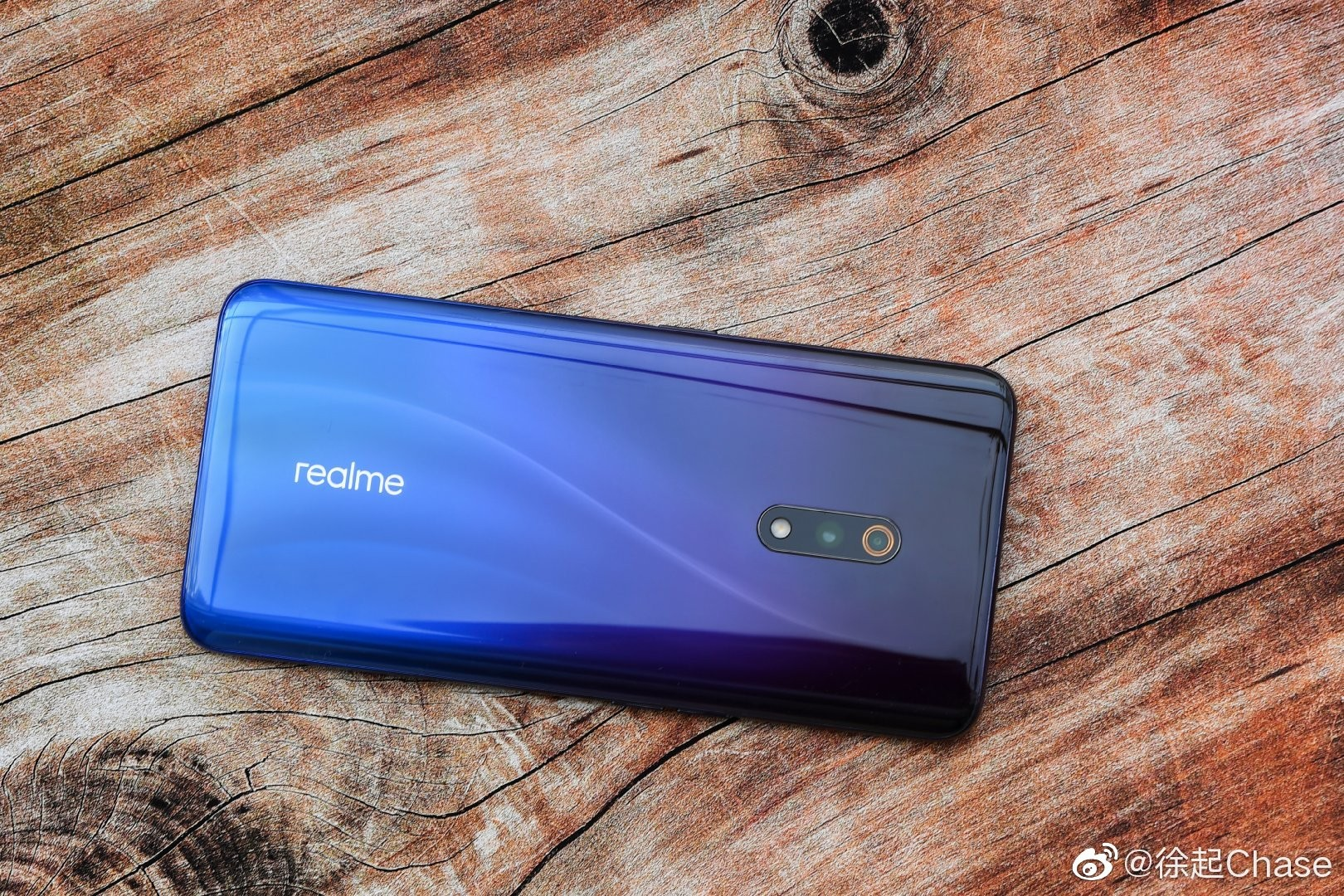 Realme X White Color Official image