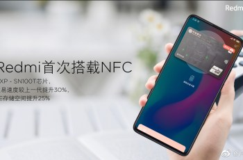 Redmi K20 with NXP's SN100 series chip