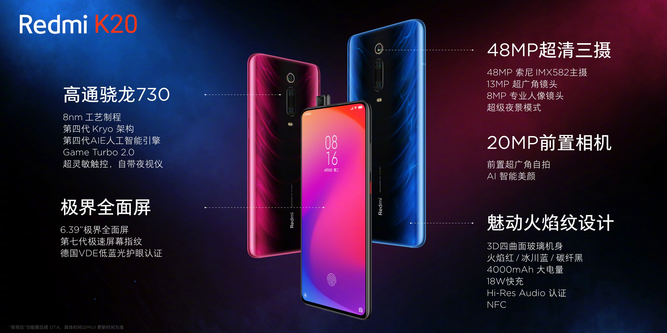 Redmi K20 Specifications