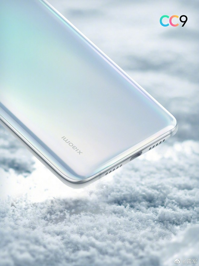 Xiaomi CC9 Offical Rendering