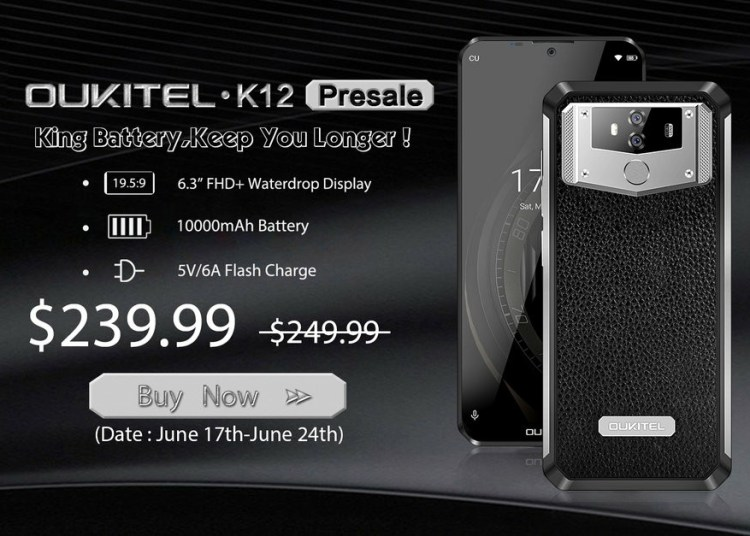 Oukitel K12