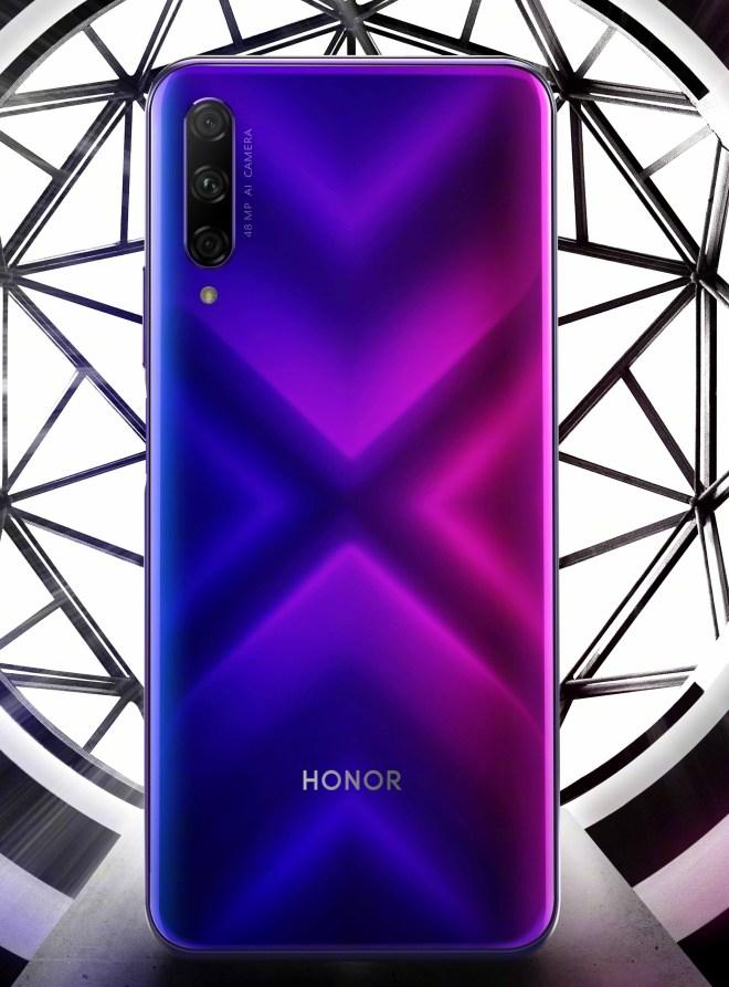 Honor 9x Back Side