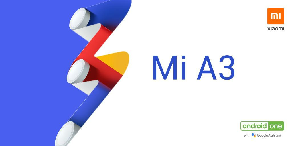 Mi A3 Official image