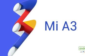 Mi A3 Official image
