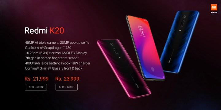 Redmi K20 Price in India