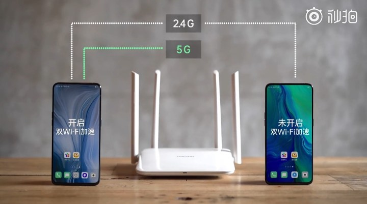 Oppo Dual Wi-fi Acceleration live Demo