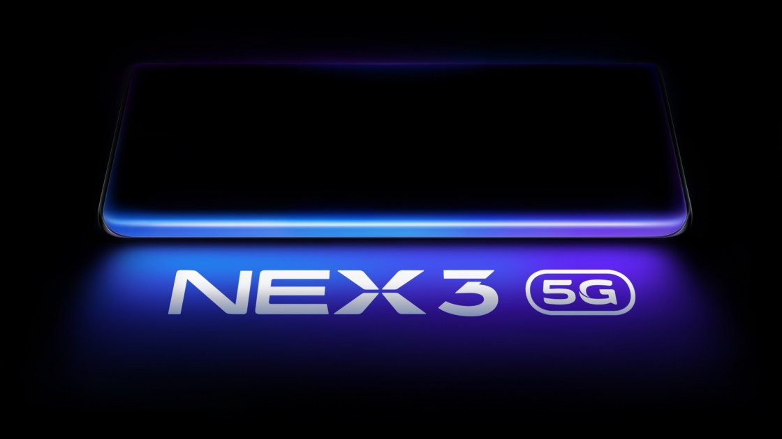 Vivo nex 3 5g Official poster