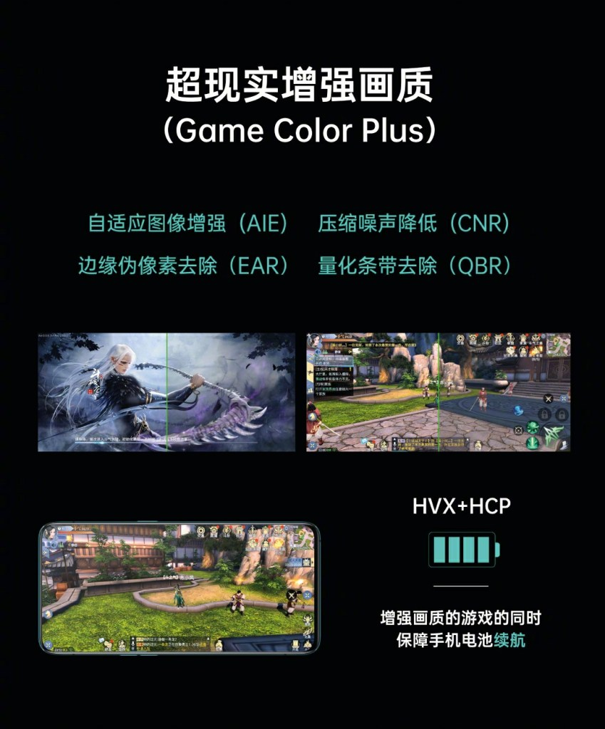 Oppo game color