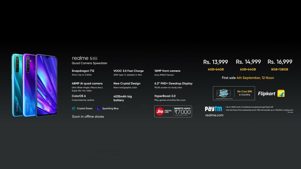 Realme 5 Pro Specifications