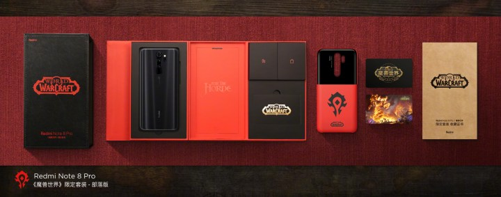 Redmi Note 8 Pro World of Warcraft Limited Edition For the Horde