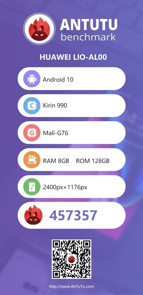 Huawei Mate 30 Pro Antutu Benchmark