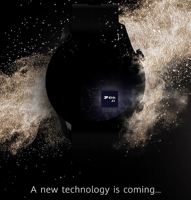 Official announcement of Huawei Watch GT 2