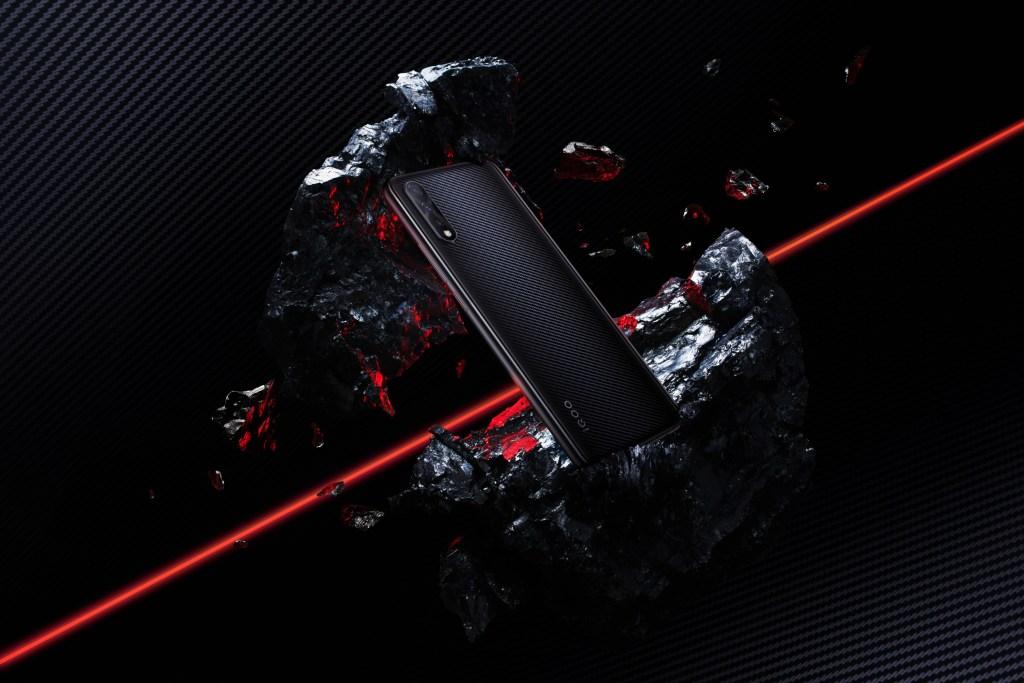 IQOO Neo 855 version in Carbon fibre Black