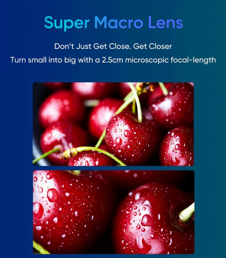 Realme X2 Pro 2.5cm Macro Photography