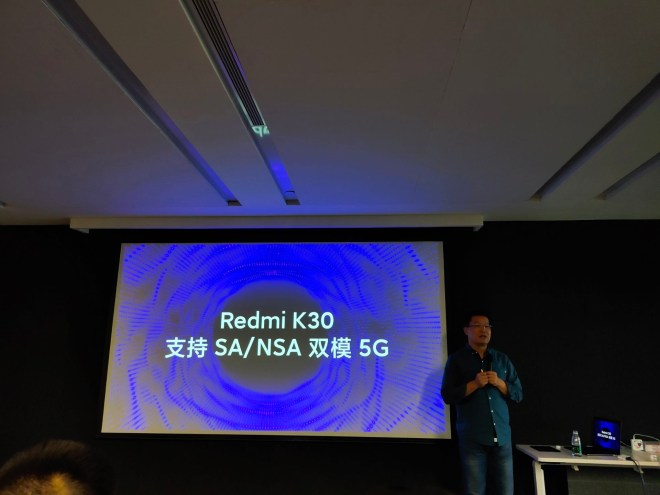 Redmi K30 Appearance