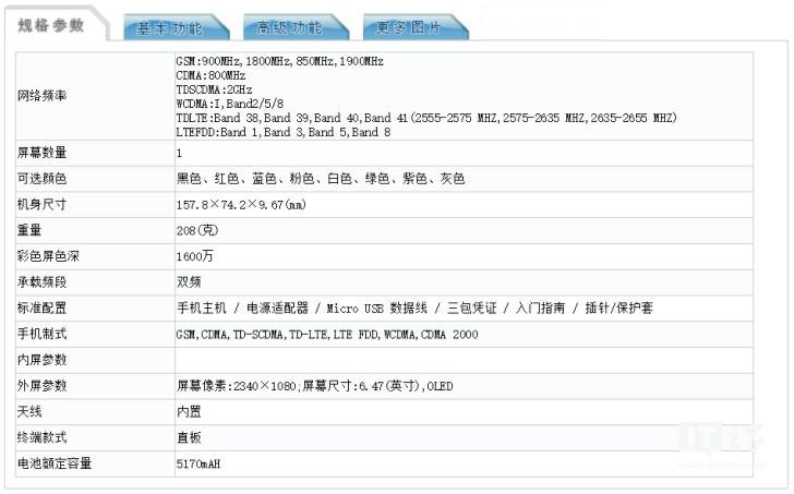 MI CC9 pro MIIT Certification as M1910F4E