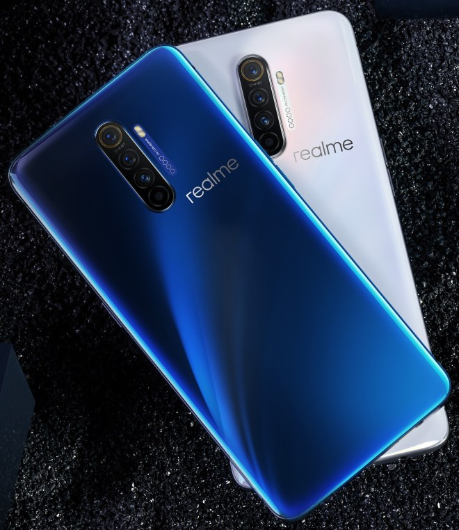 Realme X2 Pro white & blue