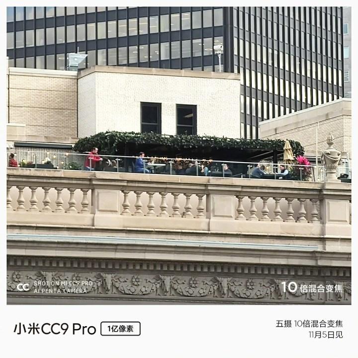 Xiaomi CC9 Pro Camera Sample