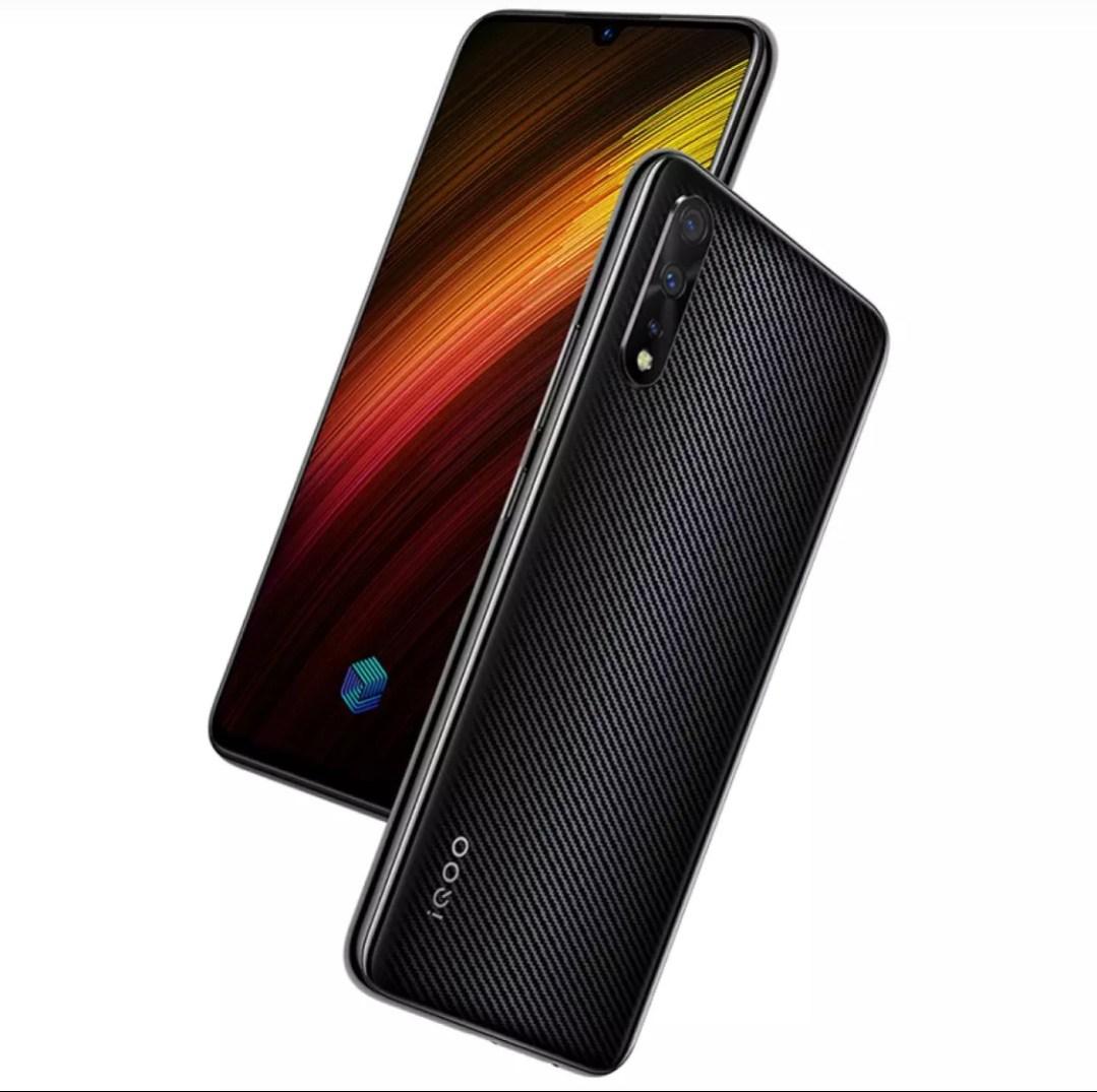 iQOO Neo 855 Version Carbon fibre Black, 33w flash charge,