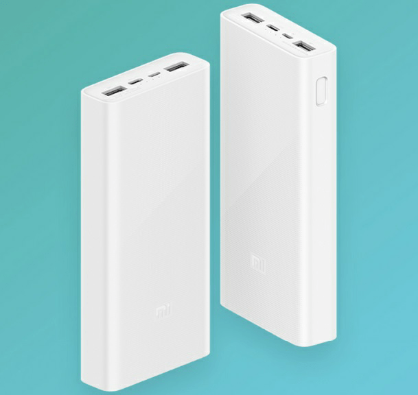 Mi Power Bank 3 20000mah capacity