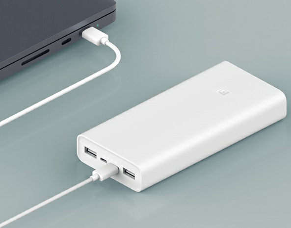 Mi Power Bank 3 USB-C two-way fast charge with 20000mAh capacity 2