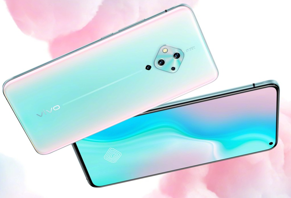 Official microblog of vivo officially announced the Vivo S5 hd rendering of real machine that will be released next week.
