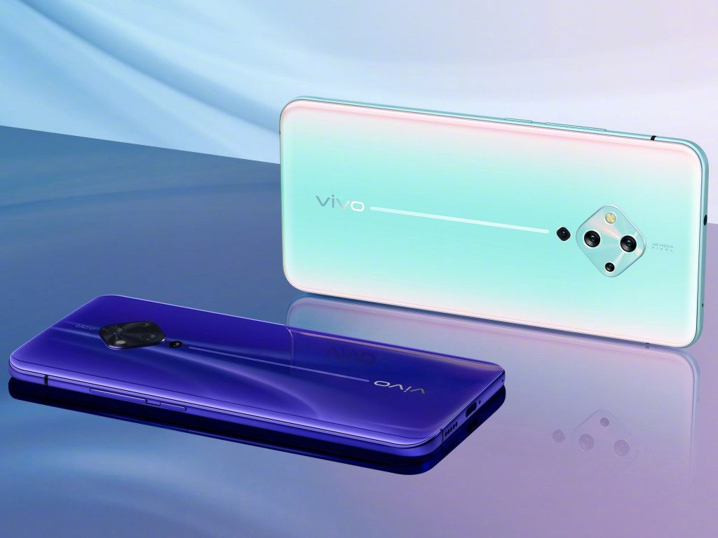 New Dark Blue colour of Vivo S5 announced 1