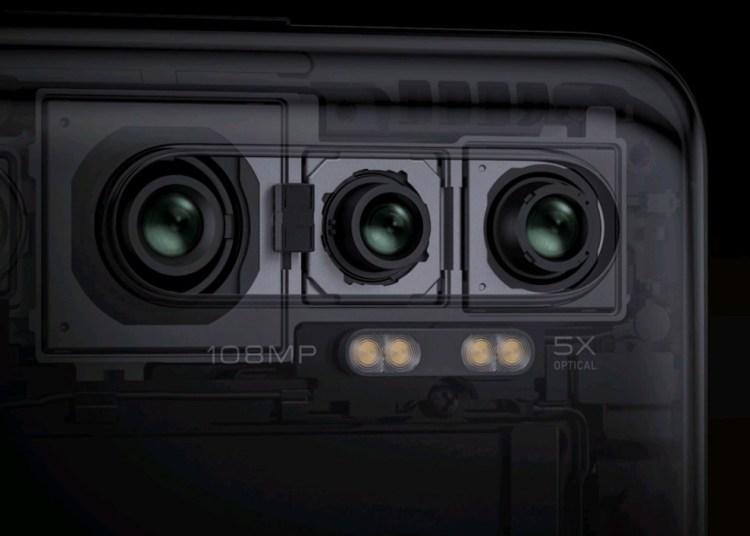 Xiaomi Cc9 pro dual four-axis optical stabilization