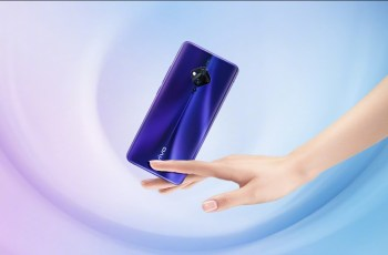 Vivo S5 Official rendering of dark blue colour