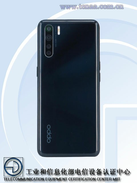 Oppo Reno3 images from MIIT certification