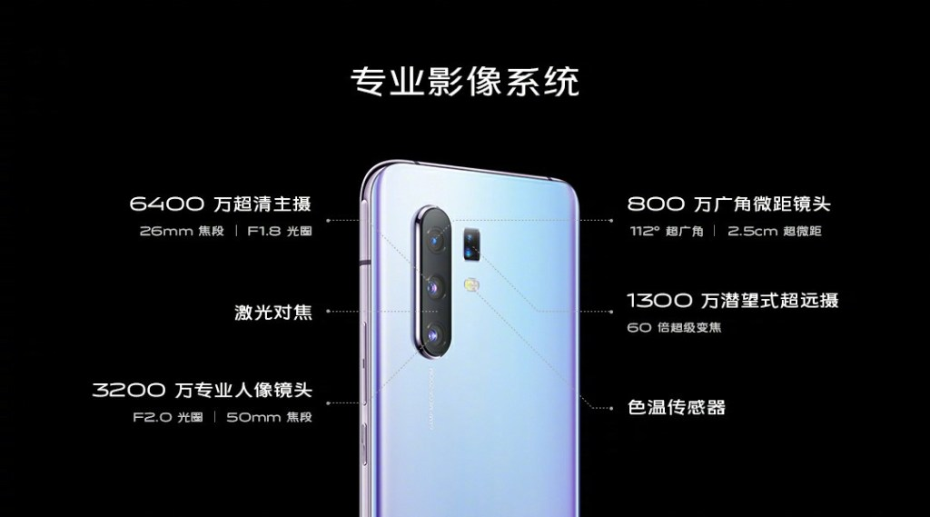 Vivo X30 Pro Professional Imaging System