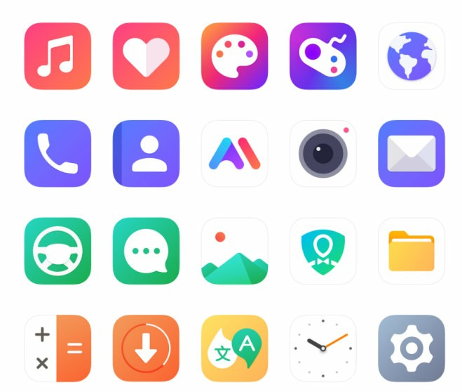 MiFavor 10 new icon design