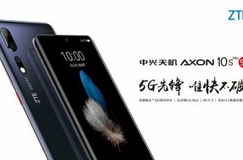 ZTE Axon 10s Pro 5G full specification