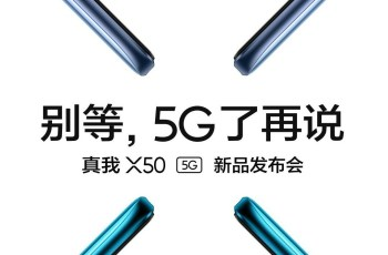 Realme X50 Release date and time