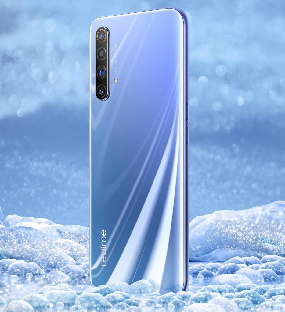 Realme X50 5G First Look, realme x50 polar color,