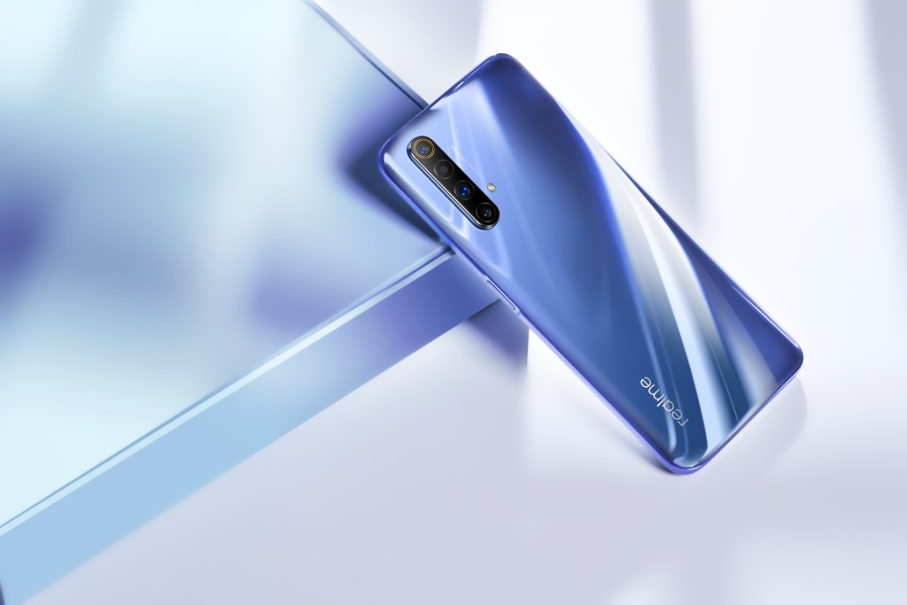 Realme X50 Side mounted fingerprint