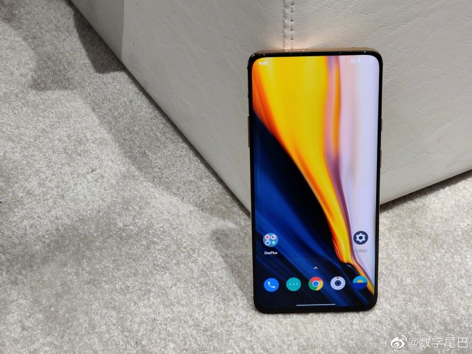 Concept One using pop-up front camera