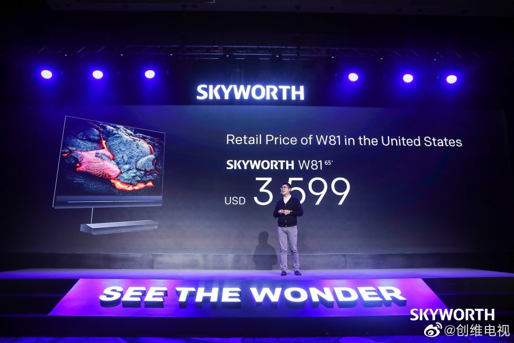 "Skyworth W81 65"" Inch Price"