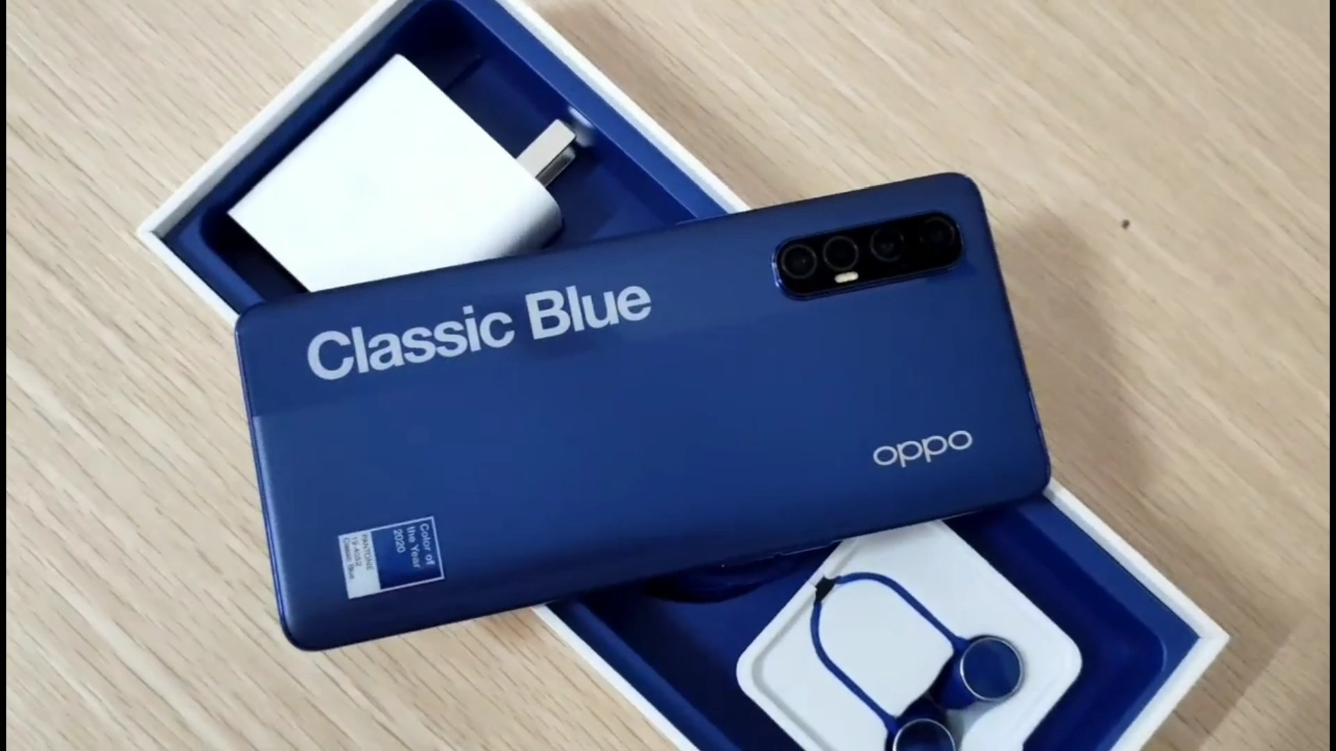 Oppo Reno3 Pro Classic Blue Unboxing