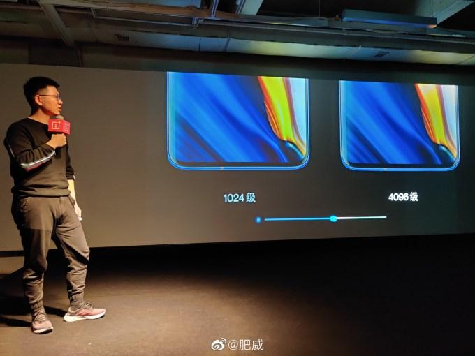 OnePlus 120Hz screen specifications