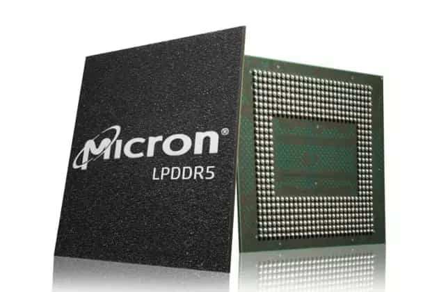 Micron LPDDR5 Specifications