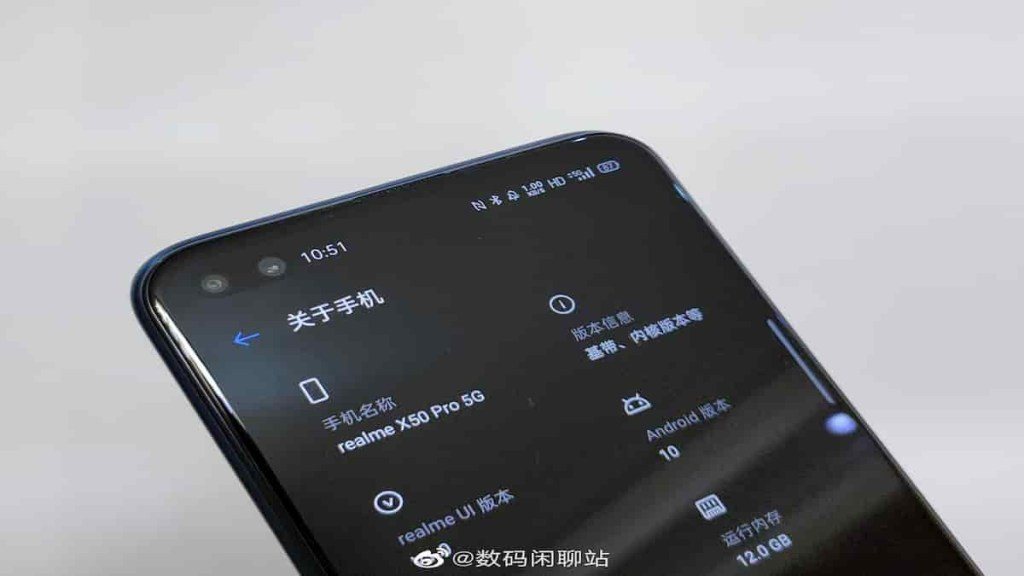 Realme X50 Pro Specifications
