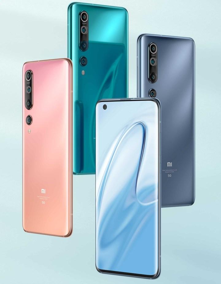 Xiaomi Mi 10 series