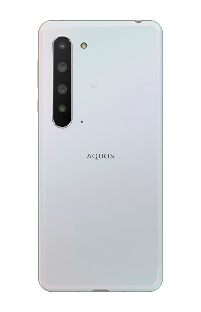 Sharp Aquos R5G white