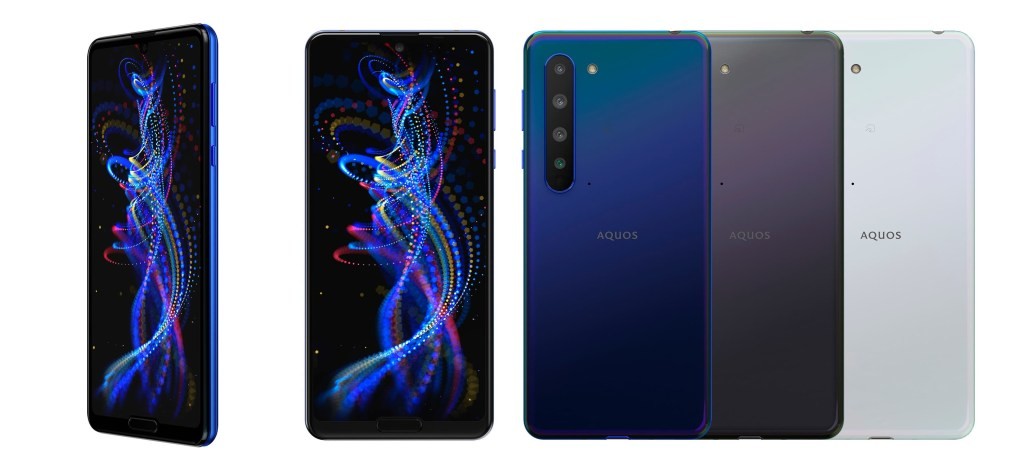Sharp Aquos R5G all colors