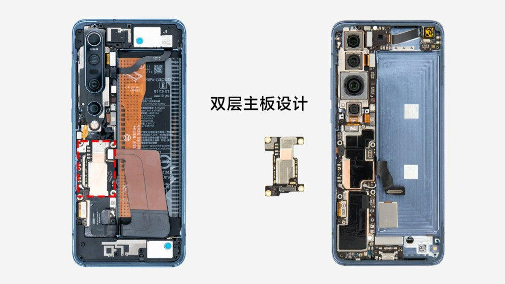 Double-layer motherboard design