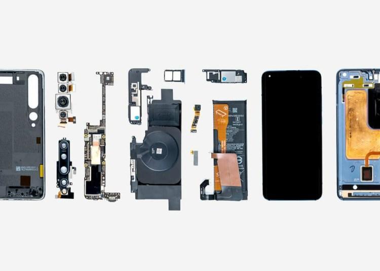 Xiaomi Mi 10 Pro teardown