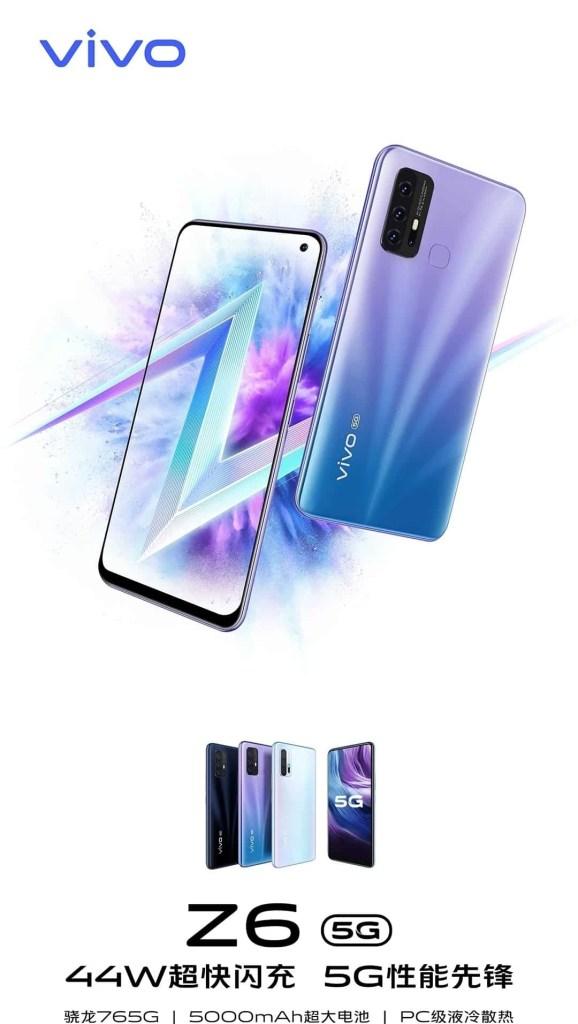 Vivo Z6 5G promotional material