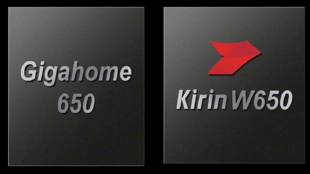 Huawei Wi-Fi 6+   Gigahome 650 and Kirin 650