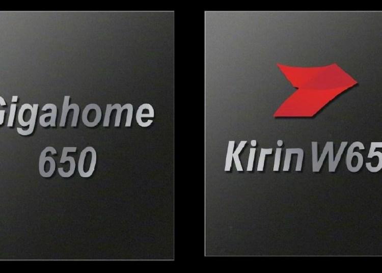 Huawei Wi-Fi 6+ | Gigahome 650 and Kirin 650